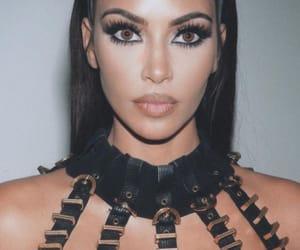 kim kardashian, beauty, and kim kardashian west image