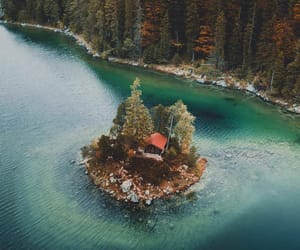 autumn, Island, and nature image