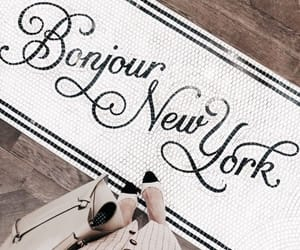 new york, style, and bonjour image