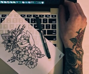 art, tattoo, and aesthetic image