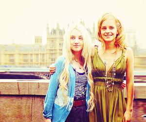 harry potter, luna lovegood, and emma watson image