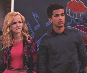 jordan fisher, liv and maddie, and liv rooney image