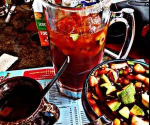 cerveza, cruda, and mariscos image