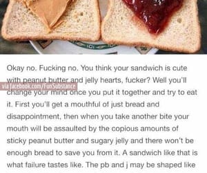 funny, lol, and sandwich image