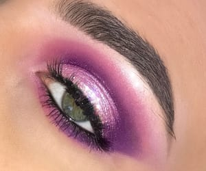 brow, eyeshadow, and make up image