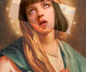 pulp fiction, art, and aesthetic image