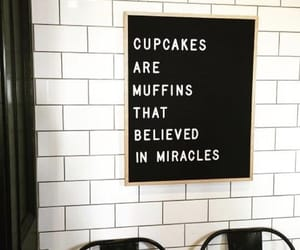 believe, cupcakes, and love image