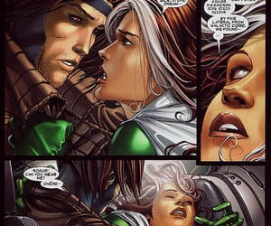 Marvel, x-men, and rogue & gambit image