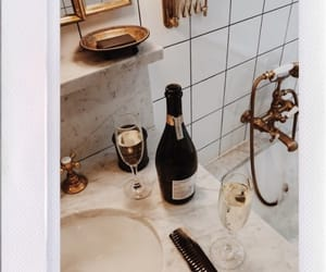 champagne, gold, and white image