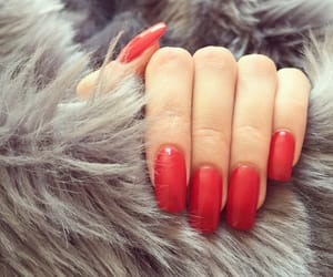 red, body, and nails image