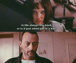 leon, life, and quotes image