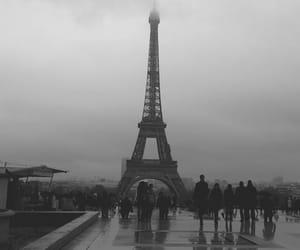 city, paris, and tour eiffel image