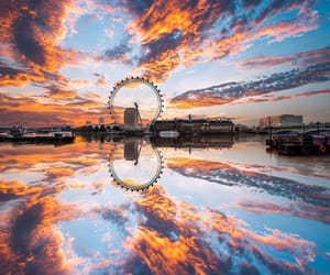 travel, london, and nature image