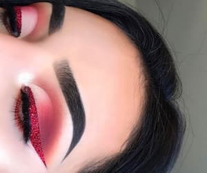 red, eyebrows, and highlight image