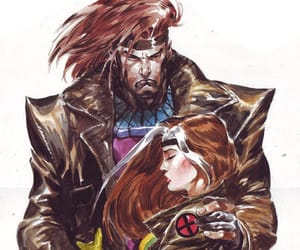 marvel comic, remy lebeau, and remy etienne lebeau image