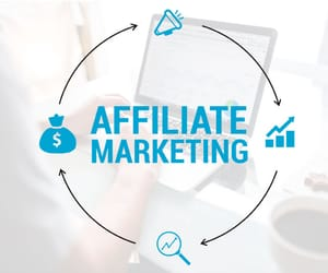 online marketing and affiliate marketing image