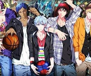 anime, sports, and kuroko no basuke image