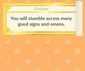 animal crossing, fortune cookie, and nintendo image