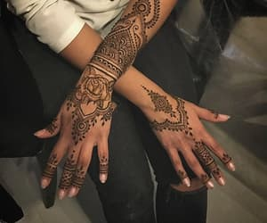 henna, tatouages, and henné image