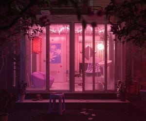 pink, grunge, and room image