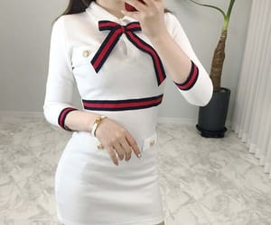asian, dress, and dressing image