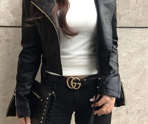asian, bag, and clothes image