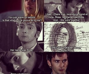doctor who, billie piper, and david tennant image