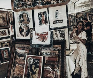 art, girl, and design image