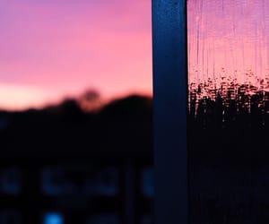 beautiful, pink, and sunset image