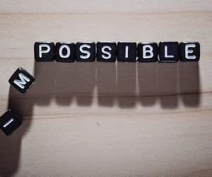 beads, possible, and quote image