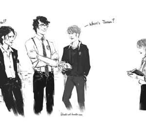 james potter, jily, and blvnkart image