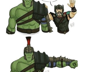 Hulk, Marvel, and thor image