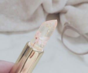 aesthetic, bambi, and lipstick image