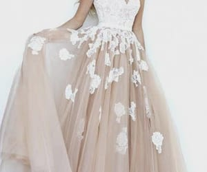 ball gown, beautiful, and dress image