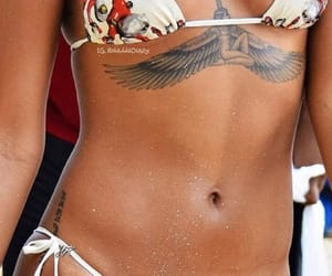 abdomen, rihanna, and sexy image