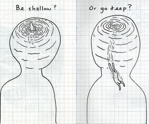 deep, shallow, and quotes image