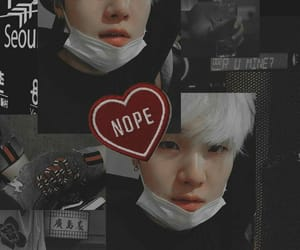 aesthetic, bts, and suga image