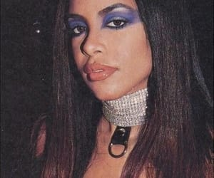 aaliyah, blue, and inspo image