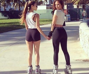 friends and fitness image
