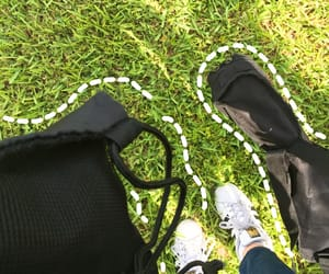 adidas, grass, and green image