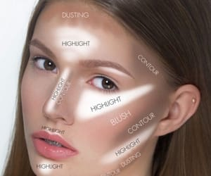 beautiful, howto, and makeup image