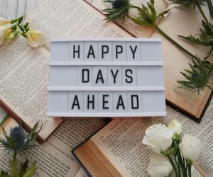 quotes, happy, and days image
