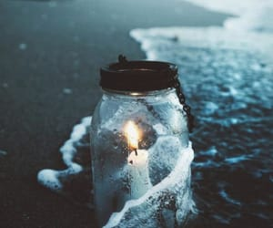 candle, flame, and jar image