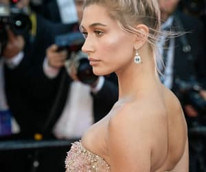 model, hailey baldwin, and cannes festival image