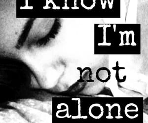 alone, black and white, and girl image
