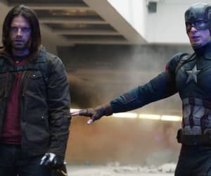 aesthetic, captain america, and civil war image
