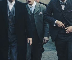 peaky blinders, thomas shelby, and arthur shelby image