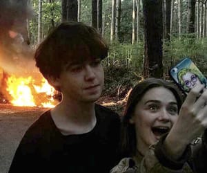 fire, Alyssa, and james image