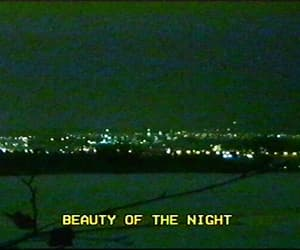 grunge, night, and beauty image