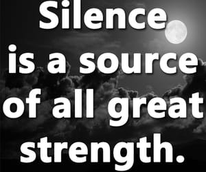 quotes, silence, and strength image